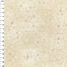 100% Cotton Ivory Flutter Print Blender Fabric 44